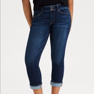 American Eagle Cropped Artist Jeans